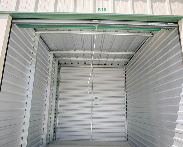 Storage unit at Stor It Self Storage in Porterville