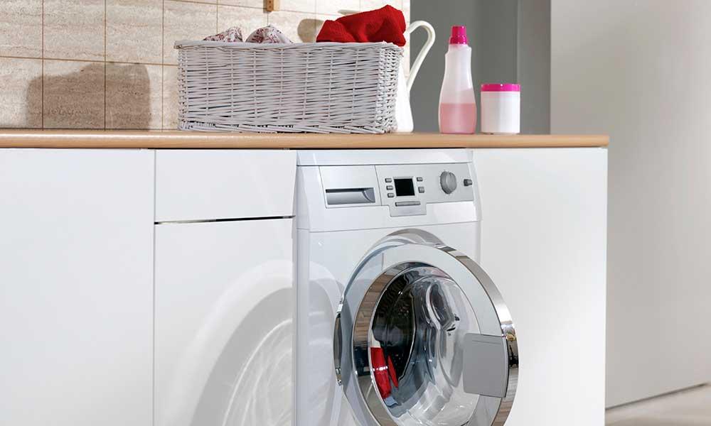 Barclay Apartments laundry facility