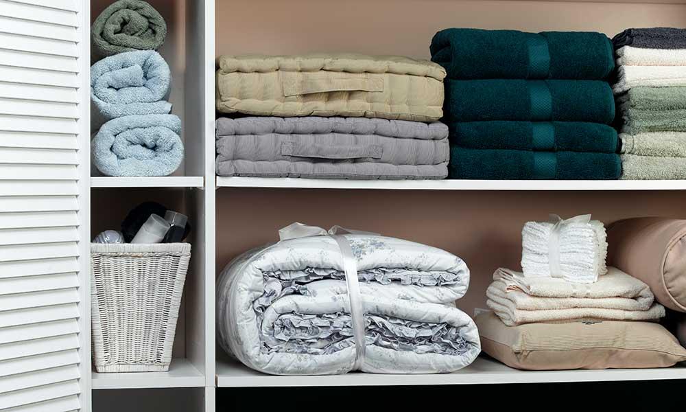 Barclay Apartments linen closet