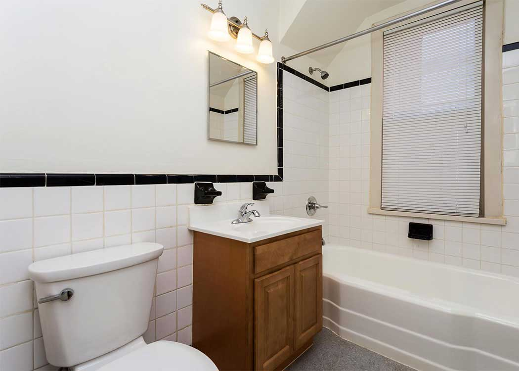 Bathroom at Brightwood Communities in Washington, DC