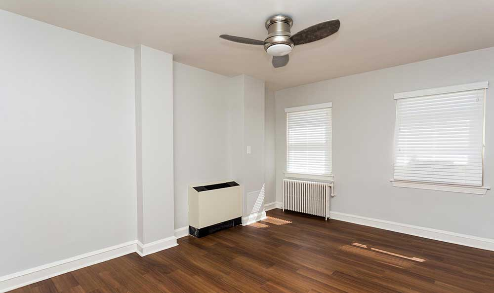 Ceiling fan at Brightwood Communities