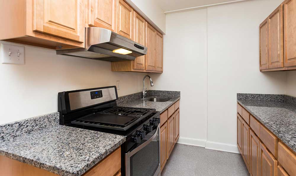 Granite countertops at Brightwood Communities