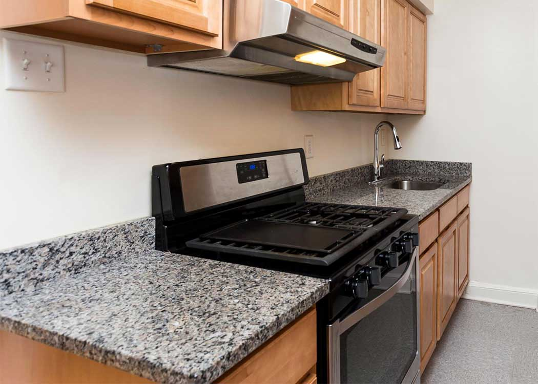 Kitchen at Brightwood Communities in Washington, DC