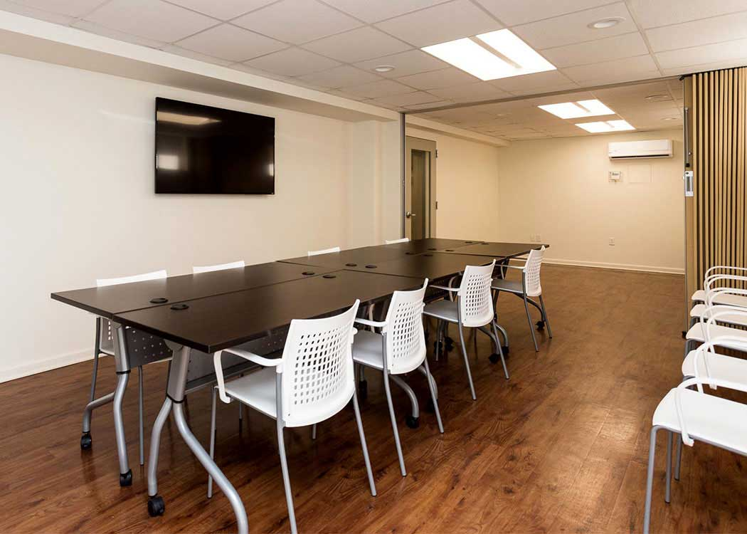 Business center at Brightwood Communities in Washington, DC