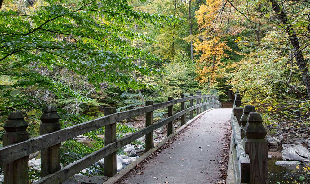 Rock Creek Park is close to Brightwood Communities