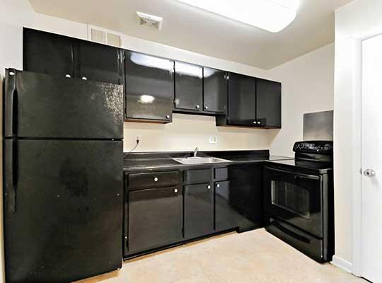 Updated appliances at Cedar Heights