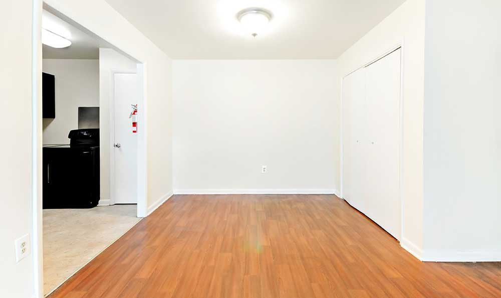 Apartments with hardwood floors at Cedar Heights