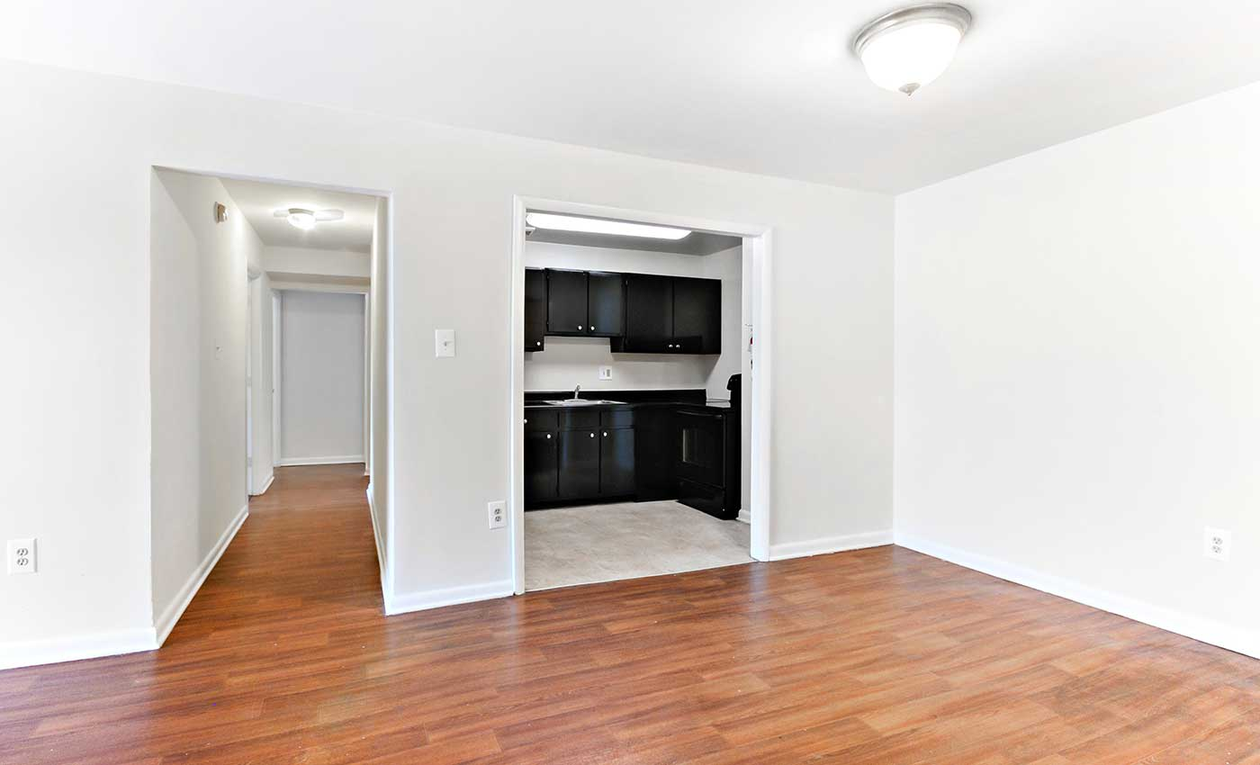 Hardwood floors offered at our Washington apartments