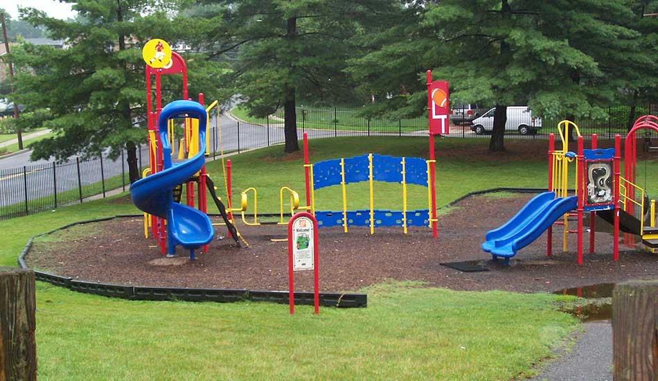 Kids play area at Central Gardens I