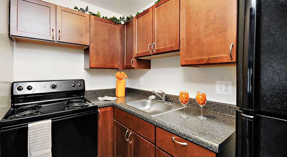 Black appliances offered at City Place on the Avenue