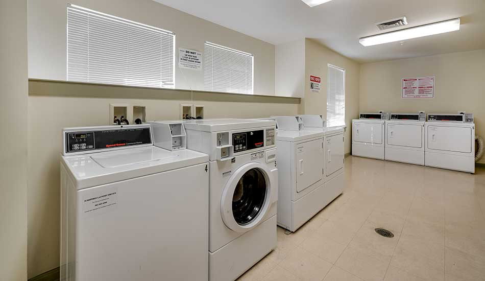Laundry facility at Collington Commons