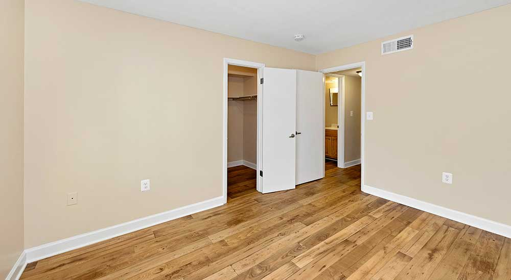 EastView Communities coat closet