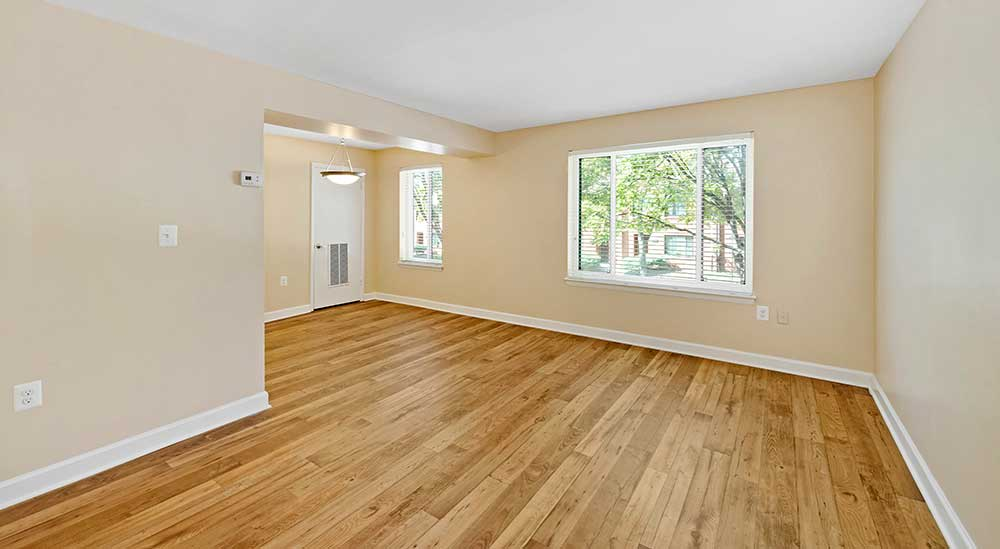 EastView Communities offers hardwood floors