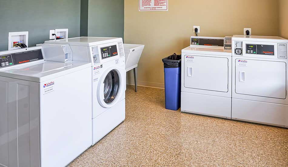 Laundry facility at Fulton Gethsemane Village