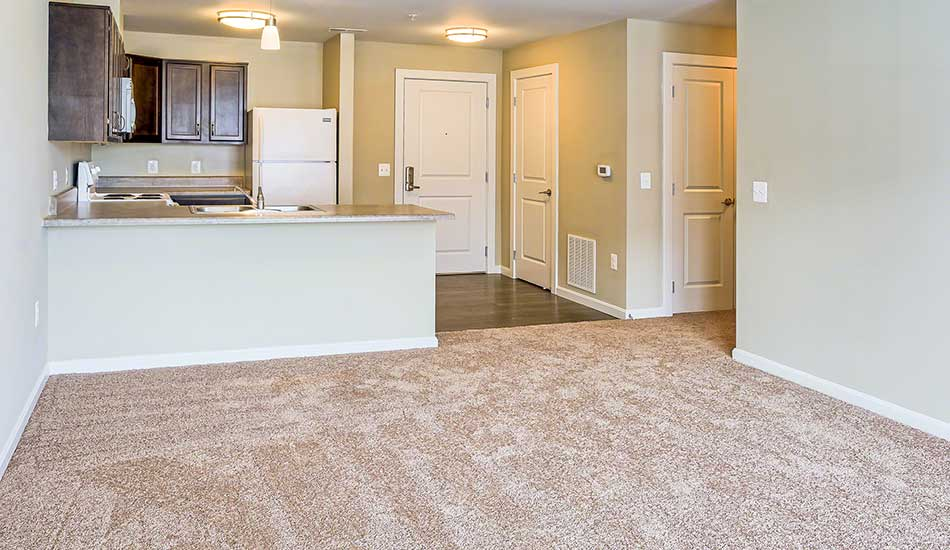 Open concept floor plans at Fulton Gethsemane Village