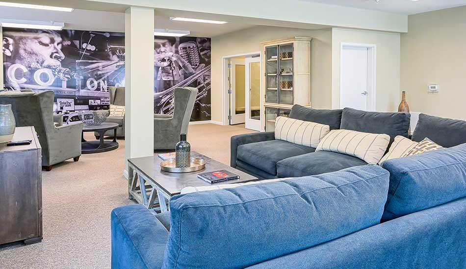 Resident lounge at Fulton Gethsemane Village