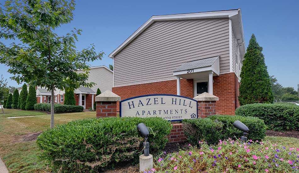 Hazel Hill front sign