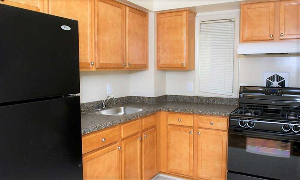 Kitchen at our Lanham apartments