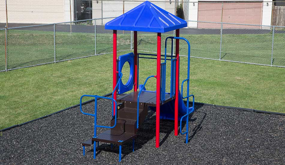 Gateway Plaza play structure
