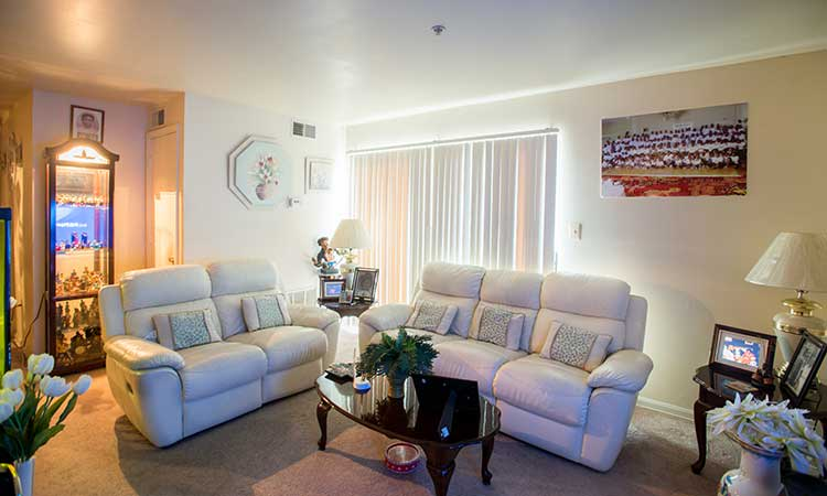 Affordable floor plan highlights at Summer Ridge Apartments in Hyattsville