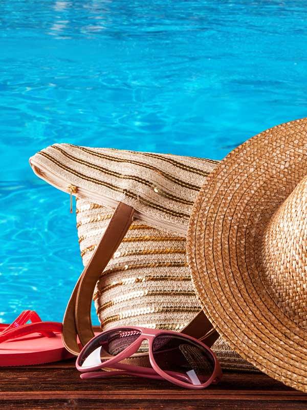 Summer Ridge Apartments pool gear