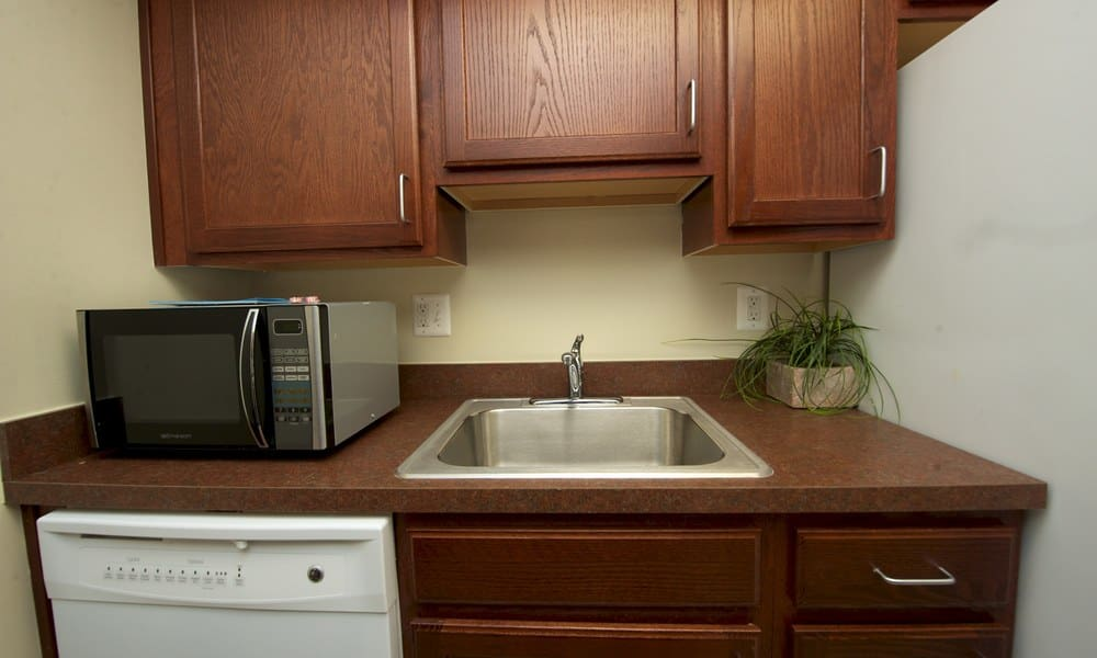 Stony Brook Apartments kitchen comes with a dishwasher