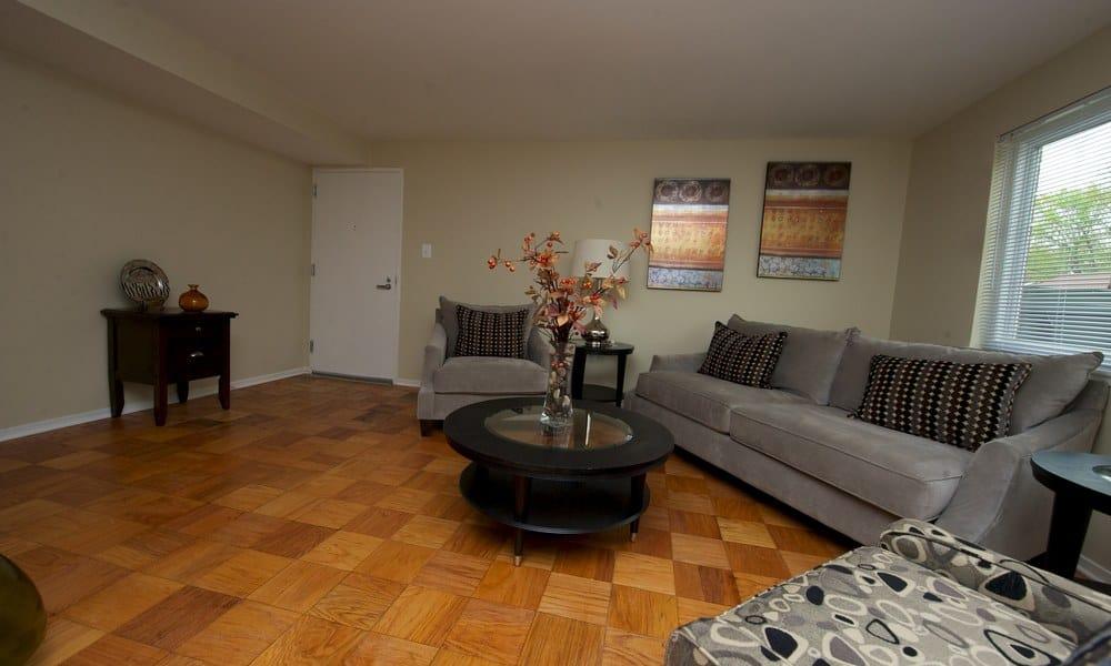 Open floor plans at Stony Brook Apartments