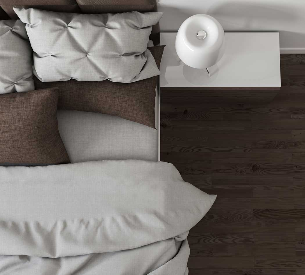 Bedroom at Pleasant Homes Apartments