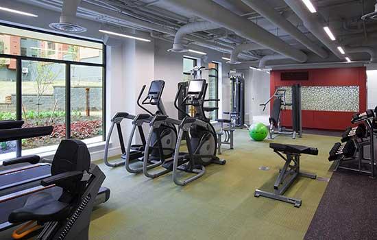 Park 7 Apartments on-site gym