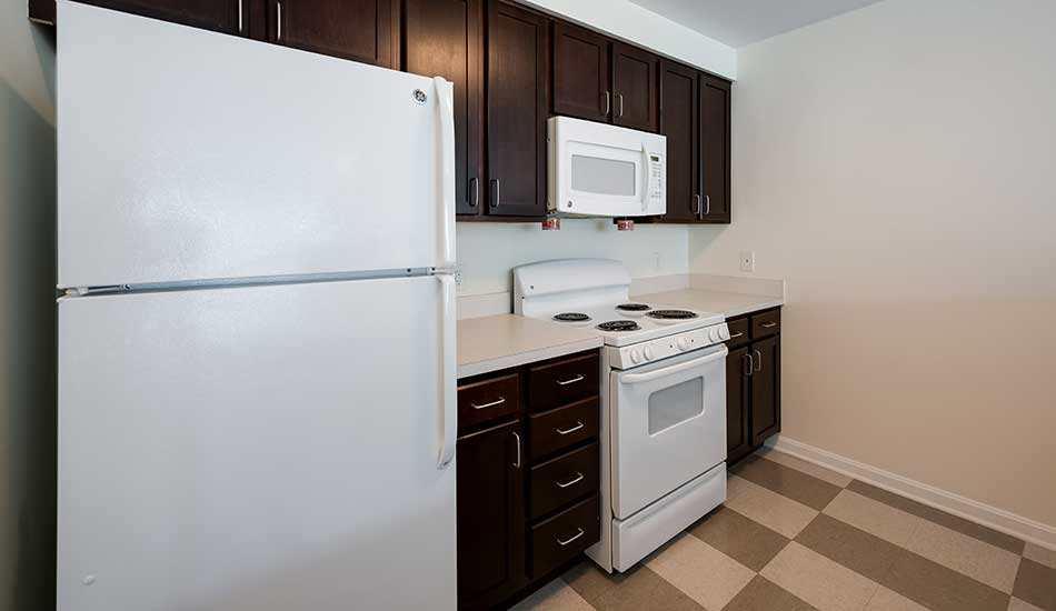 Fully equipped kitchen at North Avenue Gateway