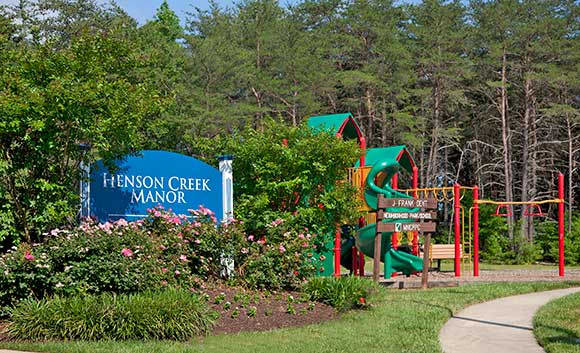 Henson Creek Manor young residents love the playground