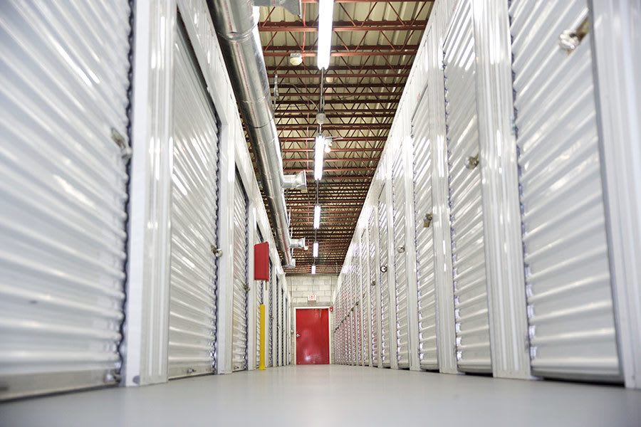 Clean And Bright Indoor Storage Available At American Personal Storage