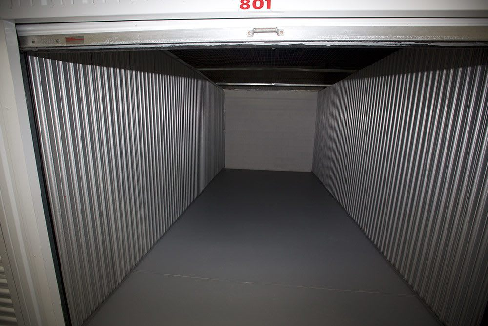 One of the storage options at American Personal Storage in Port St Lucie