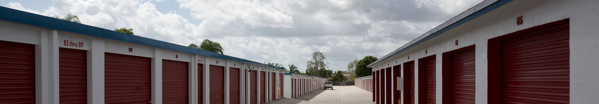 Photos of our storage units in Port St Lucie, FL