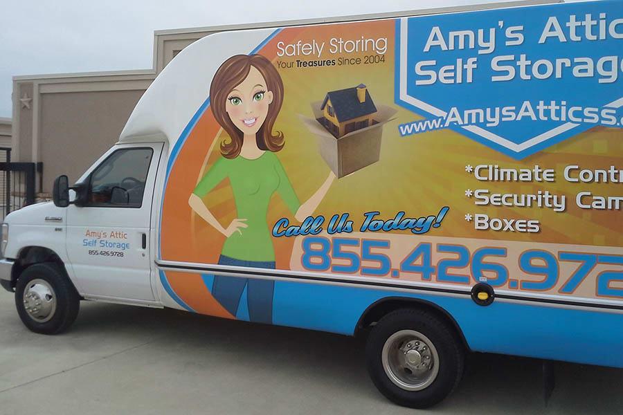 Free Moving Truck At Amyu0027s Attic Self Storage