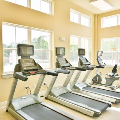 Onsite fitness center at The Gate Apartments