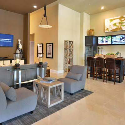 Lavish clubhouse at The Gate Apartments in ChampionsGate