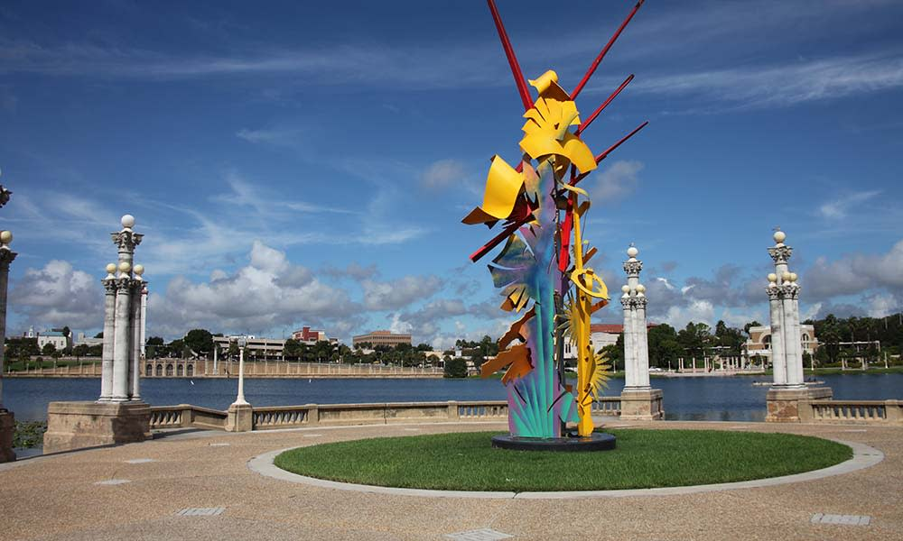 Abstract Sculpture In Lakeland