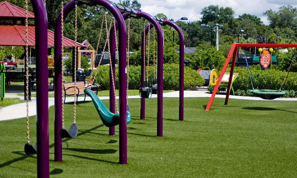 Childrens Play Area At The Avenue Apartments