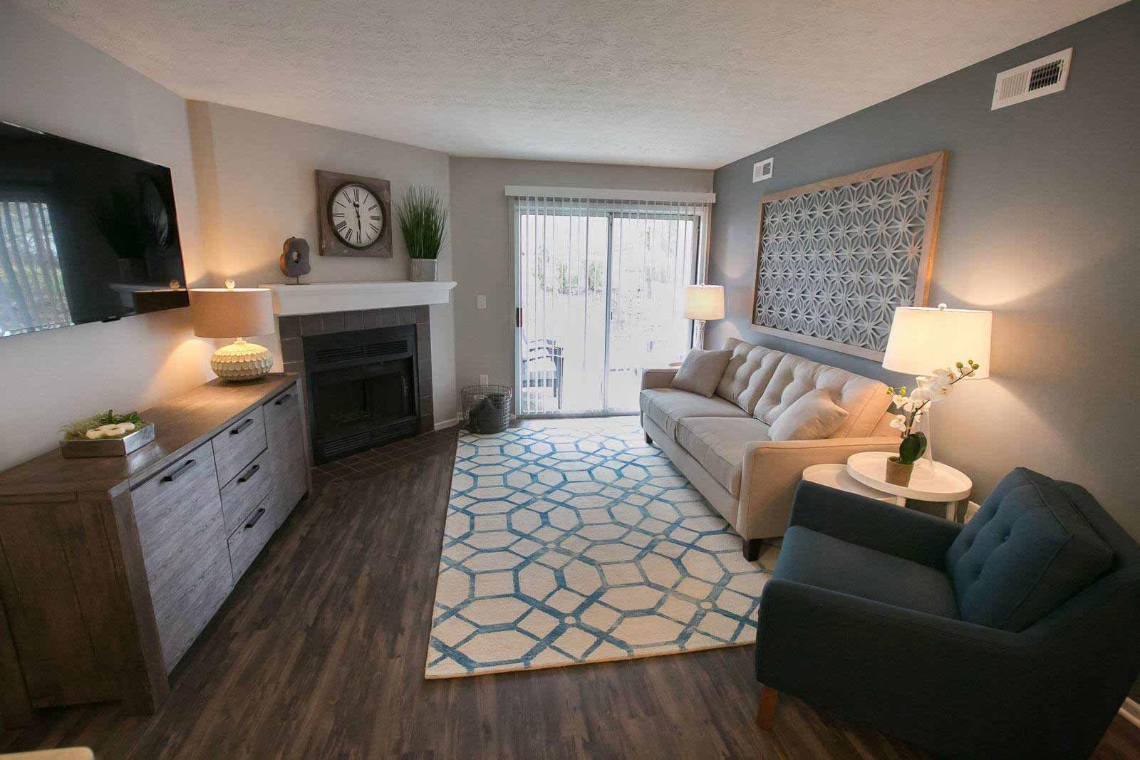 Open floor plans available at Hunter's Chase Apartments