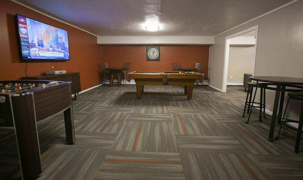 Gaming Center at apartments in Oakwood Village