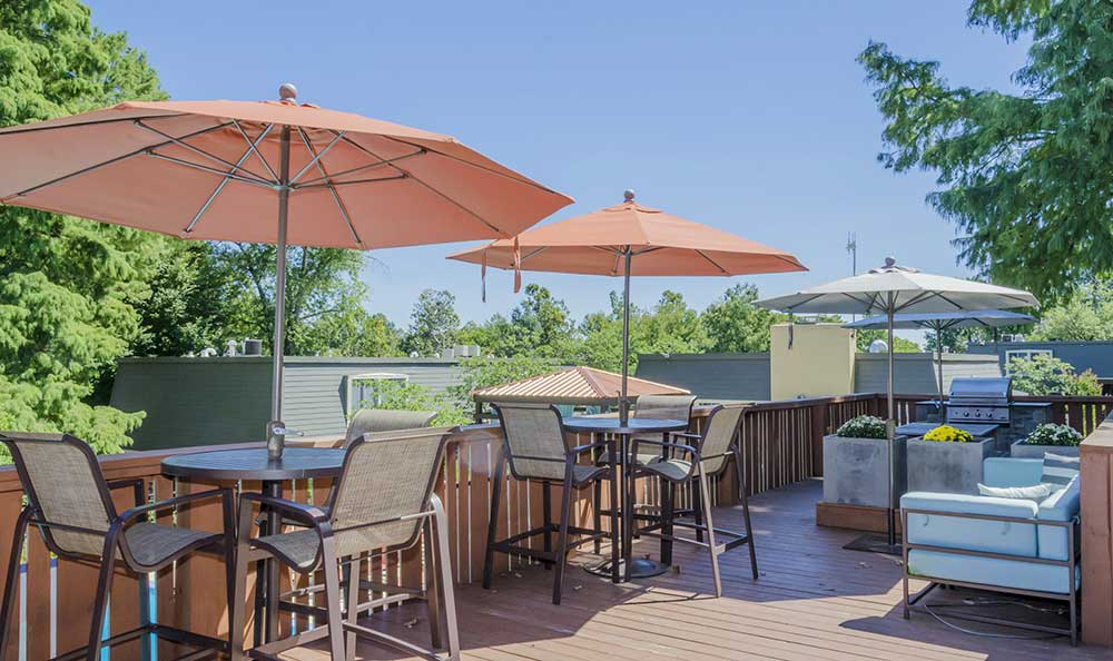 Deck at One Hundred Chevy Chase
