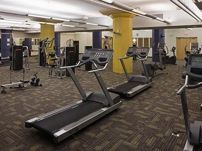 Fitness center at The Bingham in Cleveland, OH