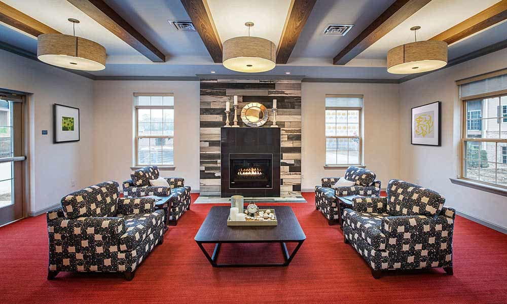 Clubhouse at Eden Square Apartments