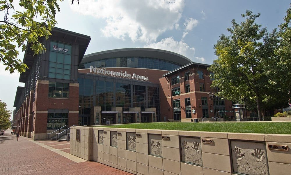 Nationwide Arena in Westerville, OH
