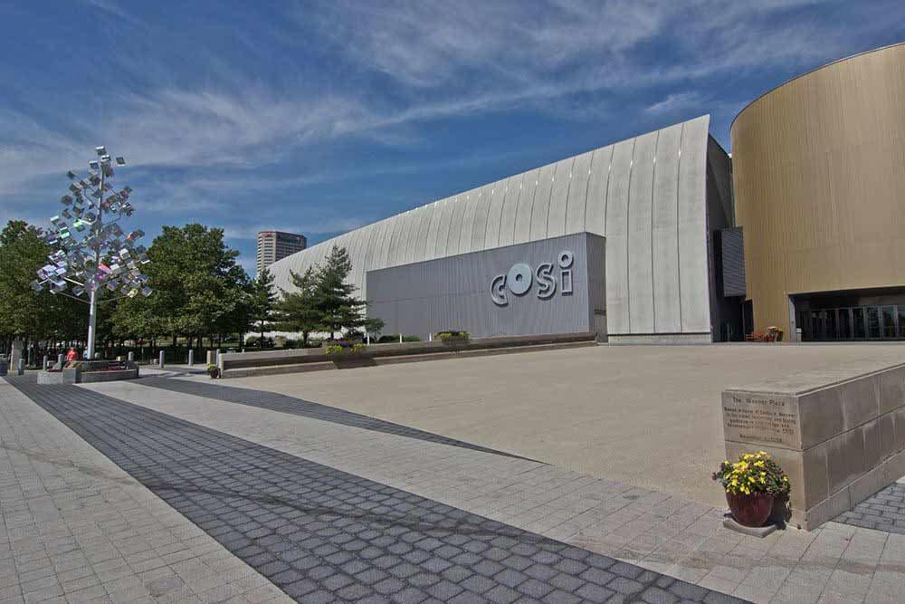 COSI is near Easton Commons
