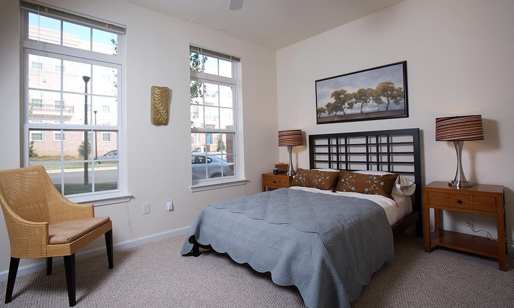 Bedroom at Worthington Luxury Apartments