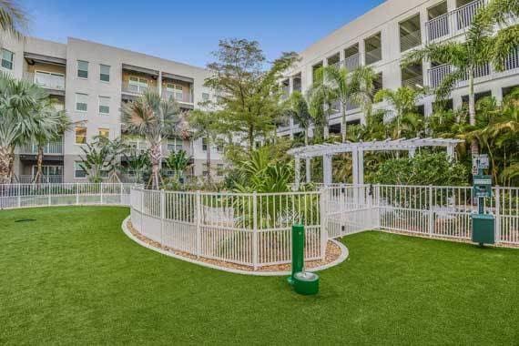 CitySide Apartments dog park