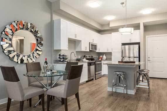 Spacious kitchen in our Sarasota, FL apartments