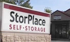 StorPlace Self-Storage sign